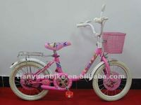 hot selling strong steel cheap pink stylish cute children bicycle for girl/boy