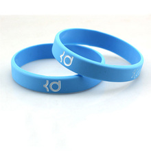 Silicone rubber wristband for sport