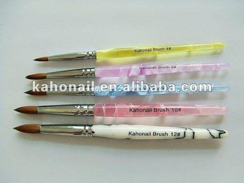 Yiwu suppliers to provide all kinds nail art,cosmetics acrylic brush acrylic acid copolymer