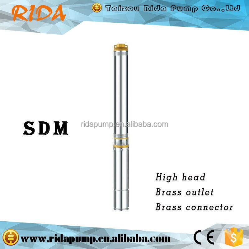 RIDA alibaba express 100QJD Series deep water well cast iron hand pump price india made in china