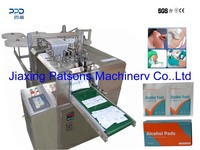 Hot Sell Automatic Alcohol Prep Pad Making Machine