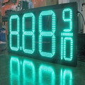 wholesale red color supper cheap led price screen for gas station
