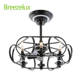 Best Quality Antique Style Retro Ceiling Fans Lamp Wood Ceiling Fan With Light