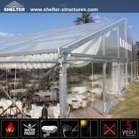 Clear span sports tennis marquees