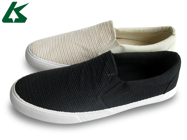 no lace canvas shoes and white canvas slip on shoes