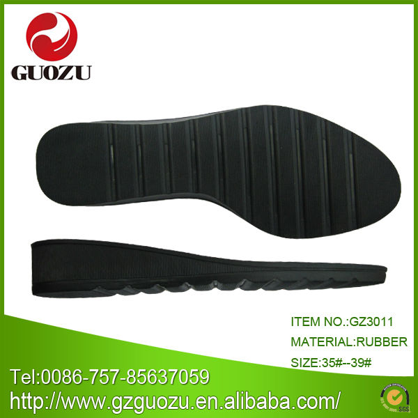 women shoe sole parts for high heels rubber