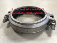 Low Pressure Flexible Grooved SS304 Clamp Coulping