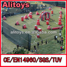 2013 New Promotion---Inflatable bunker filed with guns