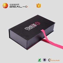 Eco-Friendly Material Made Premium Products Packaging Gift Box Black Mailer Box