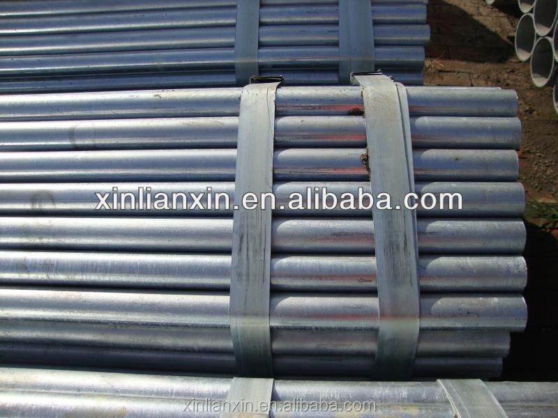 oil and water galvanized pipes