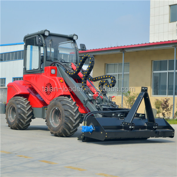 Chinese Taian loader DY1150 farm used tractors for sale