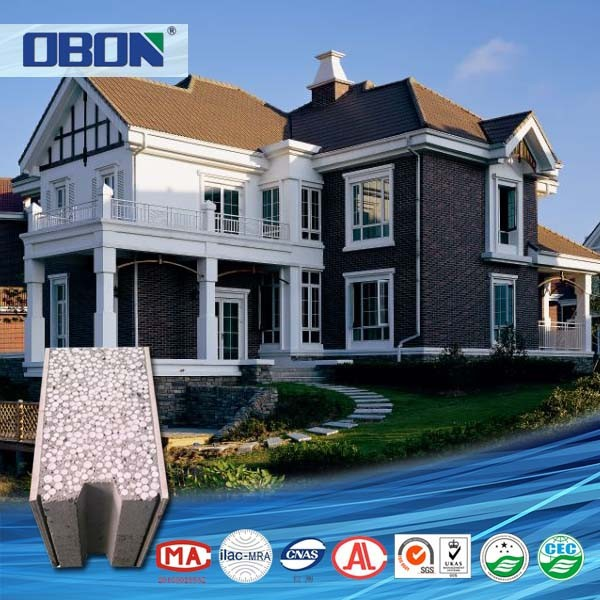 OBON decorative wall brick fiber cement board exterior wall panels
