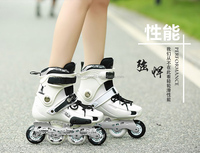 adult breathable roller blading four wheel skates shoes