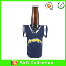 neoprene shirt beer bottle holder keep cool