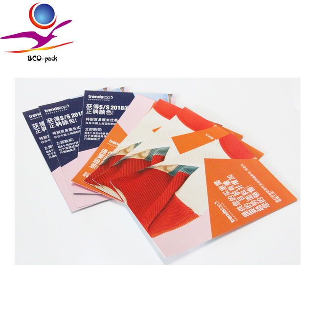 cosmetic catalogue brochure printing