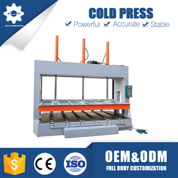 Best selling customized woodworking plywood cold press machine