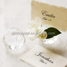 place card holder crystal wedding bomboniere for italian MH-12509