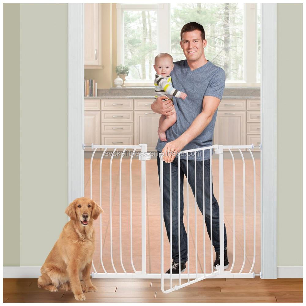 Wood and Metal Commerical Baby safety gates, Pet Barrier