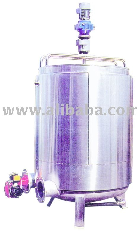 Stainless Steel Thermal Oil Cooker With Mixer