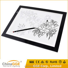 Factory Acrylic Panel LED Dimmable Ultrathin Slim Tracing Tattoo Light Box
