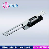 electric lock 12v electric strike work with card reader and access controller fail secure 12v 24v stainless steel house lock
