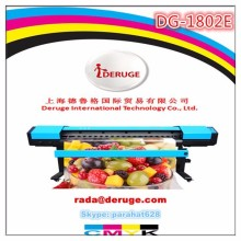 Economic 1.8m Eco Solvent Printer Deruge DG-1800E With DX7 Head