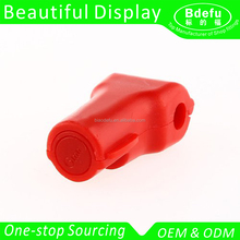 Wholesale Plastic Shop Display Hook Anti Sweep Theft Stop Lock+Detacher Stop Lock for Pegboard or Slat wall