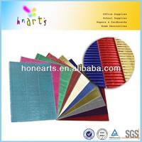 50x70 metallic corrugated paper craft quilling corrugated paper