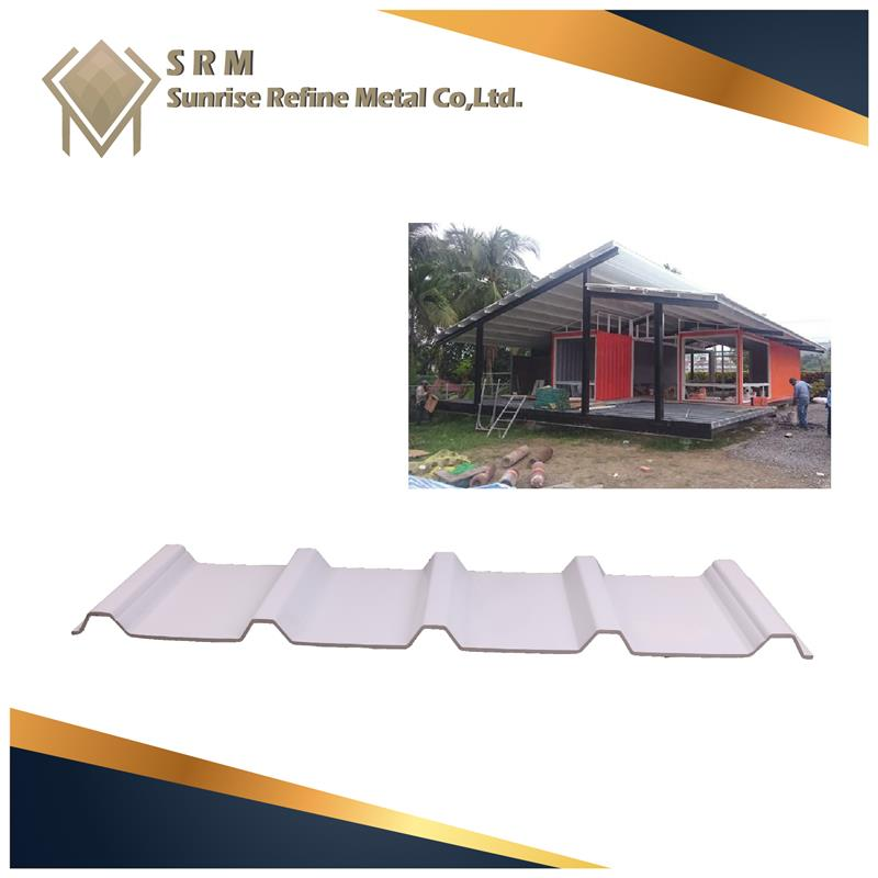 Fashion design pvc corrugated roofing With Promotional Price