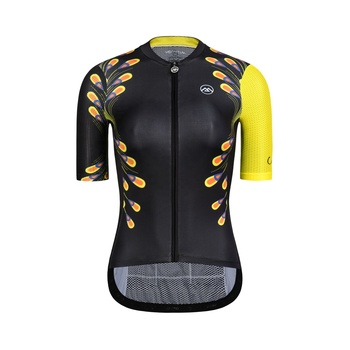 Custom Made Mesh Fabric Breathable Road Bike Jersey Design Template for Women