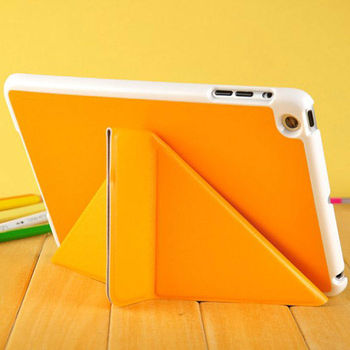 pu leather case for ipad mini , for ipad mini leather case