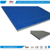 Blue 5mm-14mm indoor outdoor synthetic sports surface rubber race track