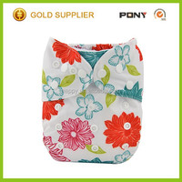2016 New Hot Sale Eco Cloth Nappy with Bamboo Insert,Baby cloth Diaper for Wholesale