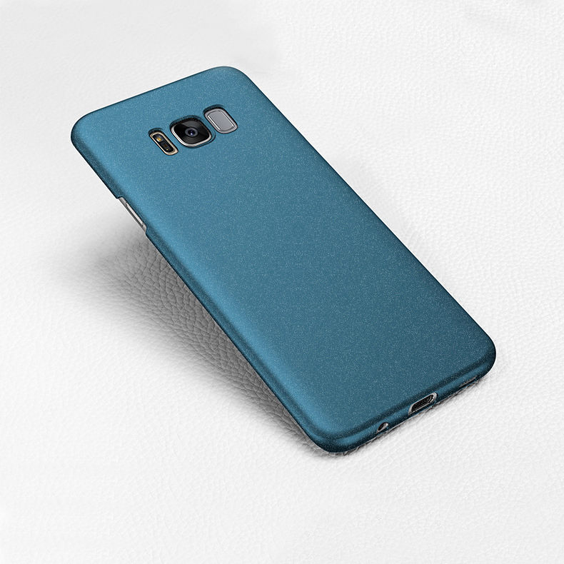 Matte Sand Skin Hard Plastic PC Phone Cover Case For Samsung Galaxy S8 Plus
