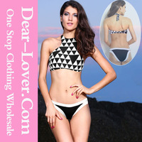 Top sale high quality sex summer costa maya high neck swimming wear for women