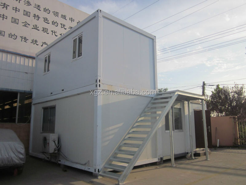 movable steel frame shipping container house for sale