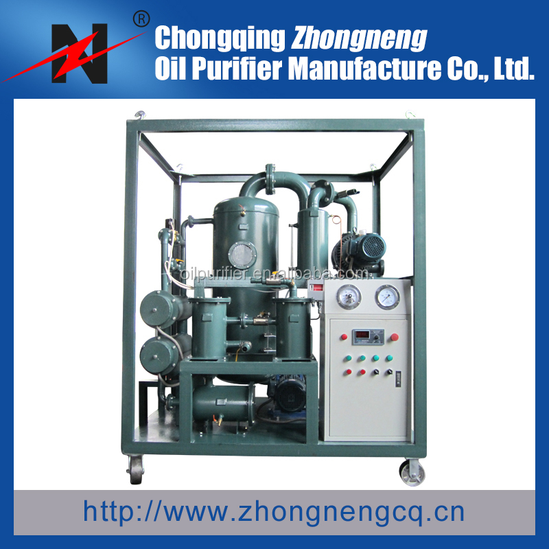 High Voltage Vacuum Transformer Oil Treatment and Regeneration Equipment