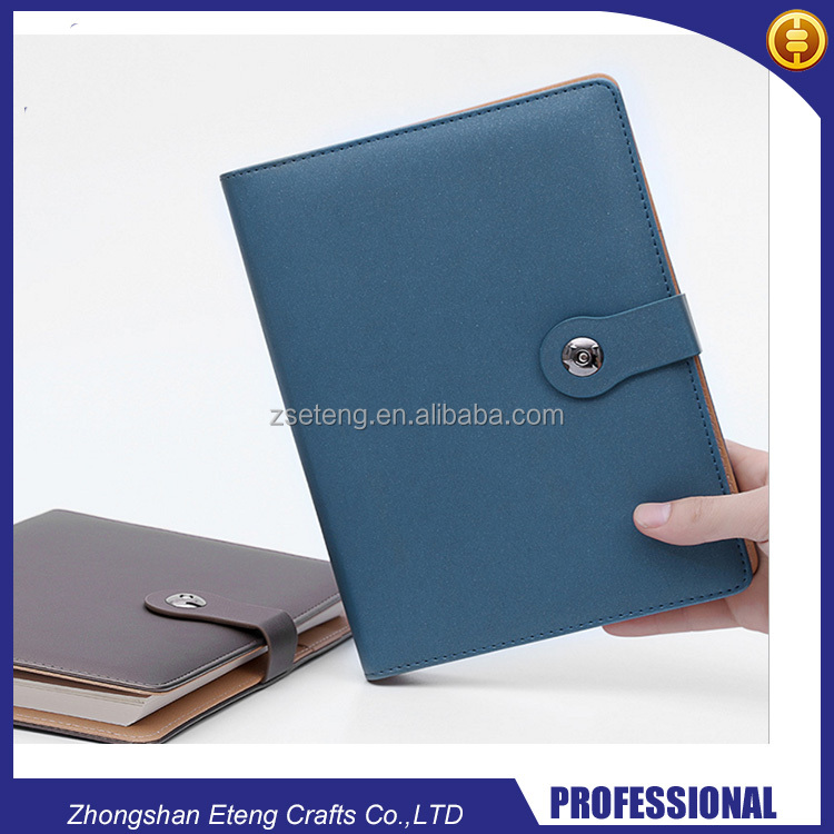 Classic Customized Pu Leather A5 Bound Diary ,Leather Notebook,Notepad