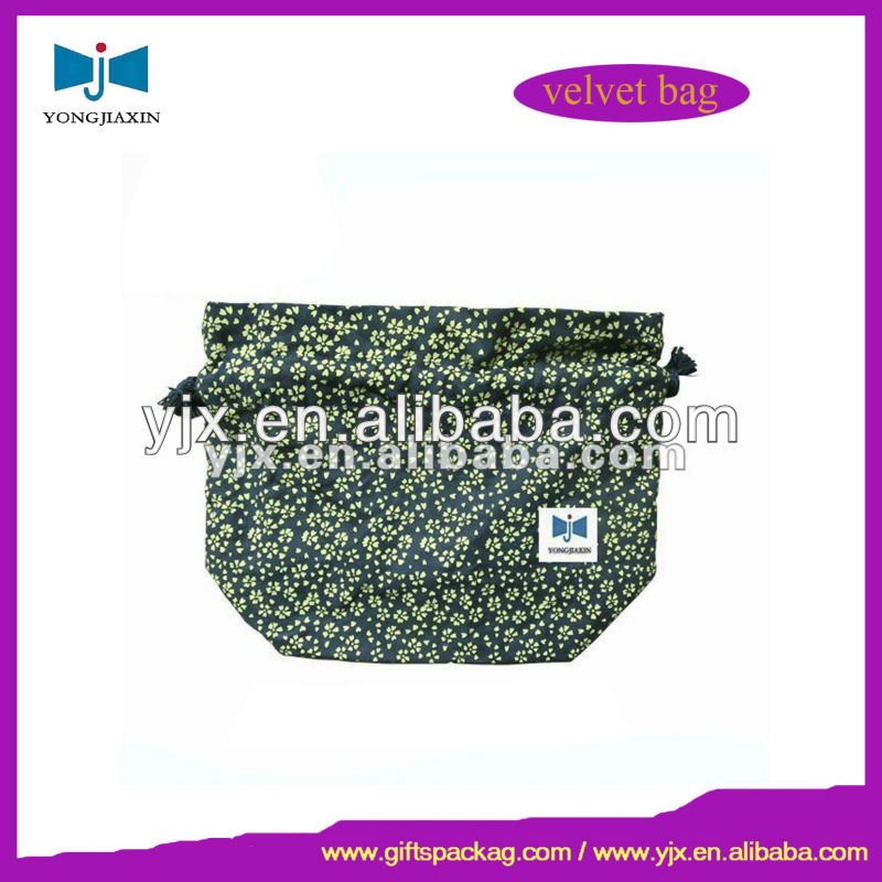 Customize cotton net drawstring bag for gift packaging