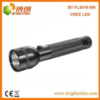 Factory Supply CE ROHS Heavy Duty Aluminum Metal Brightest America Cree q5 led Flashlight Torch