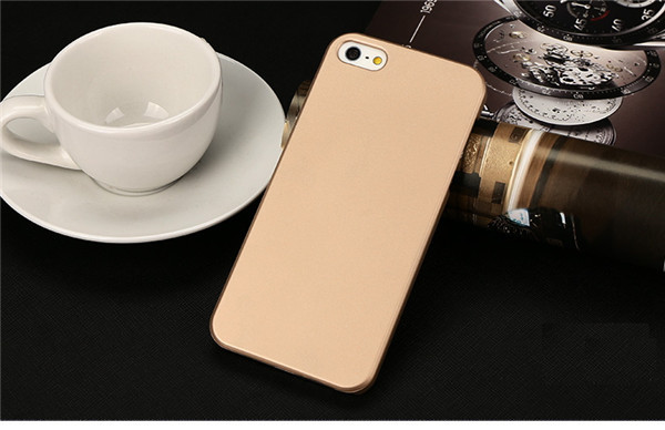 Best Selling Products Mobile Accessories Rubberized PC Back Cover for Apple iPhone 5 5s