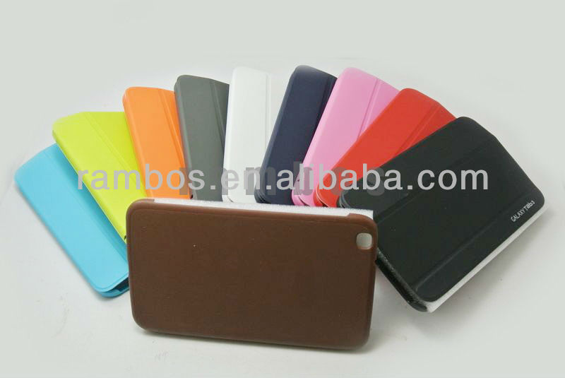 "8"" Tablet Book Leather Case Smart Cover Pouch for Samsung Galaxy Tab 3 8.0 P8200 T310 T311"