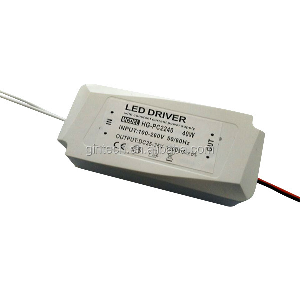 external constant current 30w cob hep led driver 600ma with ce rohs approved