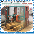 wood double blade circular saw mill machine
