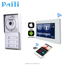IP Video Door Phone with Wireless 720P Camera Full Duplex Free Android and IOS APP