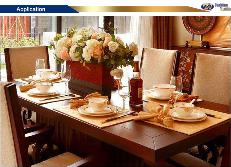 Table linen and napkin folding design