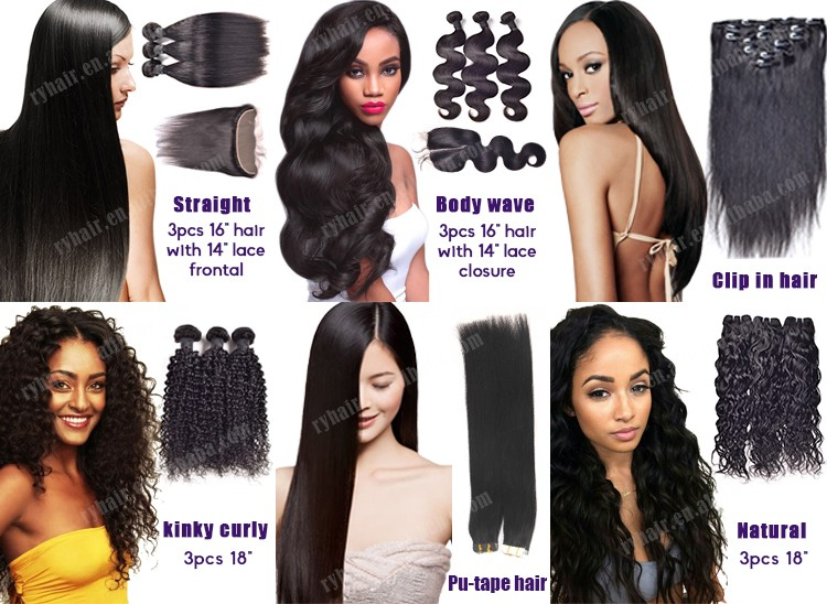 best price and quality wholesales large in stock virgin human remy china hair factory