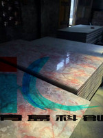PVC Imitation Marble Table Top/Decorative wall panel making machine