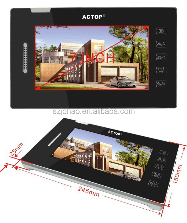 2015 ACTOP smart home actop home intercom with monitor and store 100 pictures