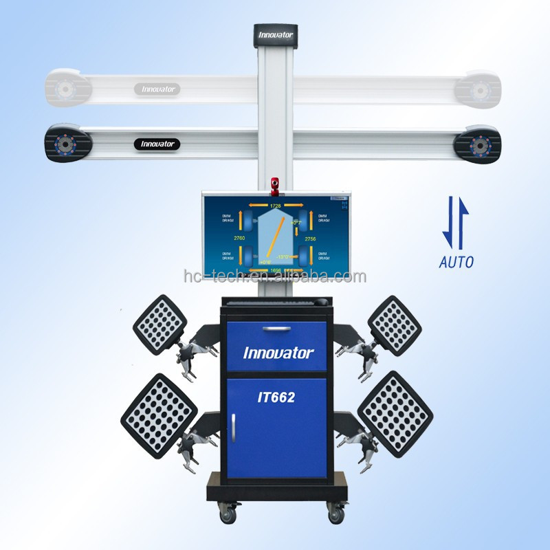 Advanced 3d wheel alignment with john bean IT662 with auto tracking camera
